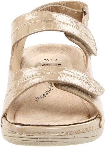 Drew Shoe Womens Dora Comfort Sandal Bone Croc