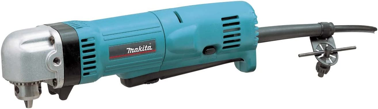 Makita, DA3010F, Right Angle Drill, 3 8 In, 2400 RPM, 4.0 A