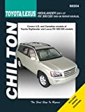 Toyota Highlander and Lexus RX 300/330, Joe L. Hamilton, 1563929287