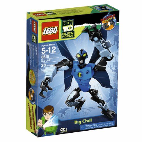 LEGO Ben 10 Alien Force Big Chill (8519) (Ben Big Chill 10)