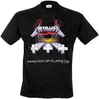 Probity Metallica - Master of Puppets Camiseta para Hombre: Amazon.es: Ropa y accesorios