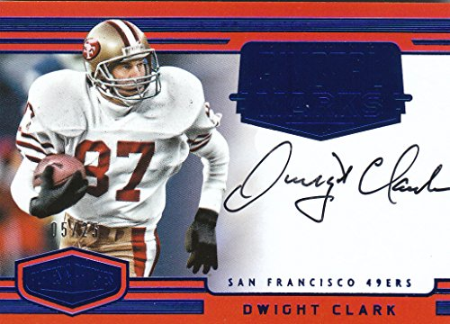 2016-panini-plates-and-patches-pivotal-marks-blue-11-49ers-dwight-clark-auto-5-25-nm-mt