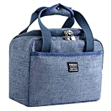 NUWFOR Insulated Lunch Box Soft Cooler Bag Waterproof Thermal Work School Picnic Bento