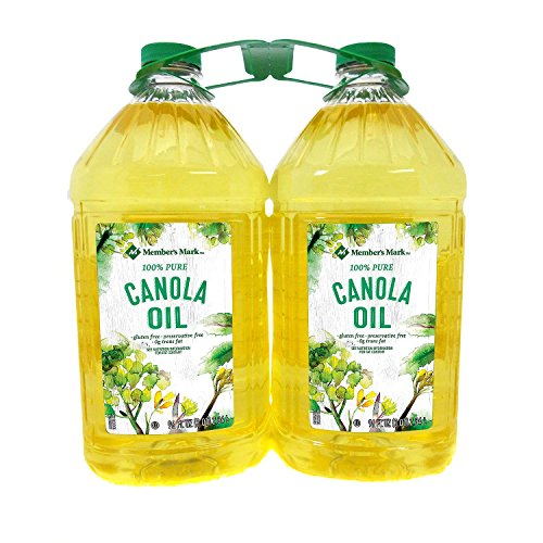 Member's Mark Canola Oil 3 qt., 2 pk. (pack of 4) A1 by Member's Mark