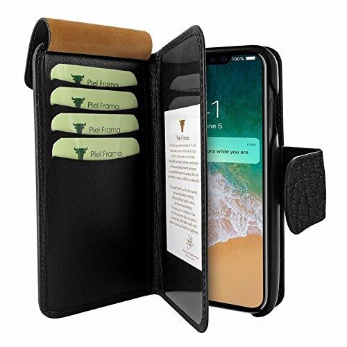 Piel Frama 793 Black Karabu WalletMagnum Leather Case for Apple iPhone X by Piel Frama (Image #2)