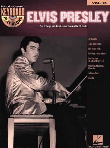 Hal Leonard Elvis Presley-Keyboard Play-Along Volume #15 (Book and CD) by Hal Leonard