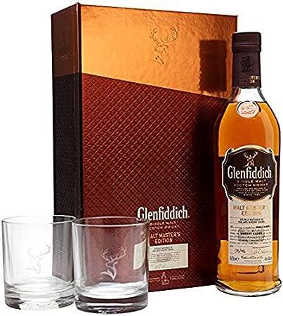 Glenfiddich Glenfiddich MALT MASTER'S EDITION Single Malt Scotch Whisky 43% Vol. 0,7l in Giftbox - 700 ml