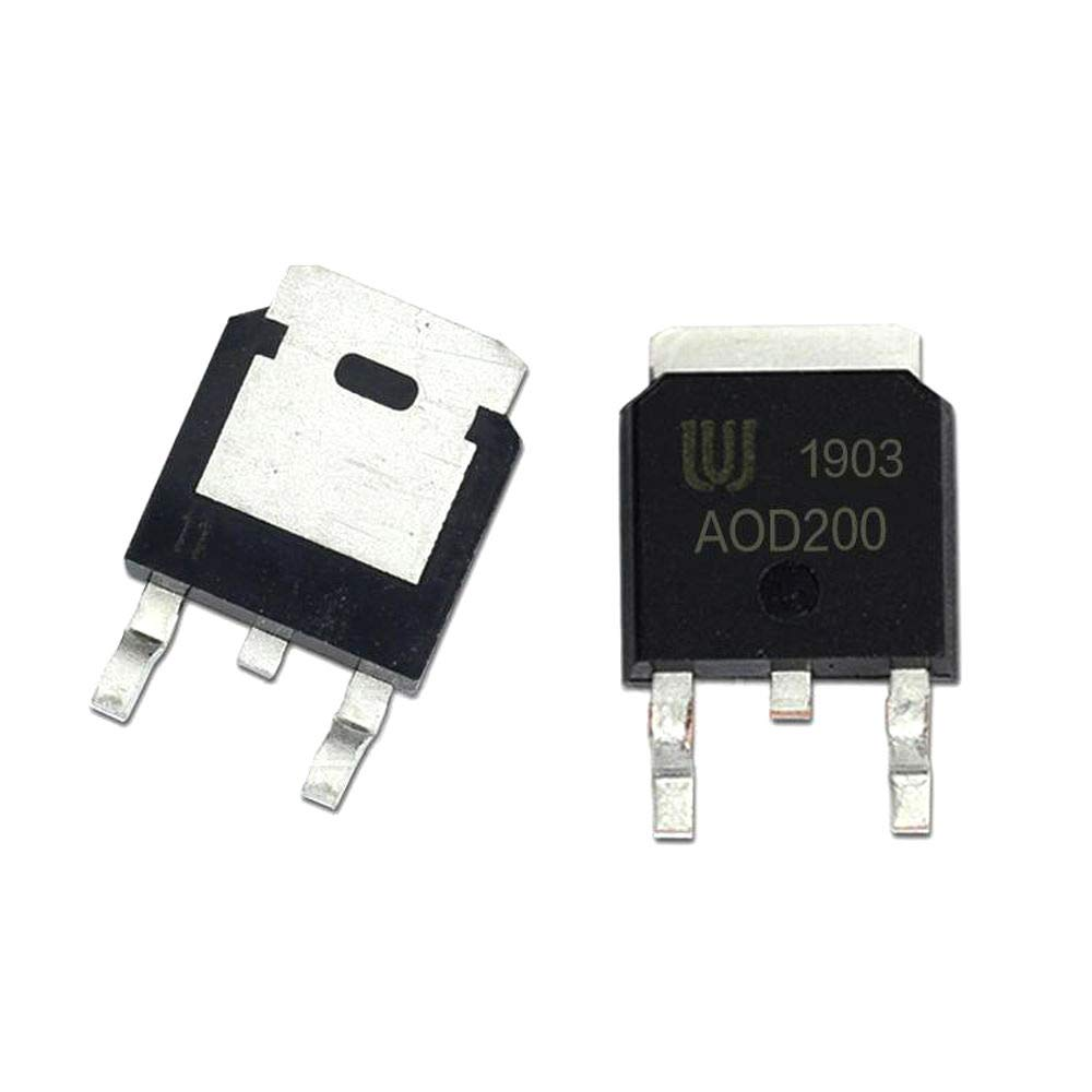 10Pcs//lot AOD200 TO-252 36A 30V D200 N-Channel Mosfet