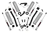 Rough Country 60930 - 3.5-Inch Suspension Lift Kit for 07-18 Jeep JK Wrangler Unlimited