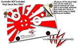 Rising Sun Japanese Flag Red - Decal Style Skin fits Microsoft XBOX One S and One X Wireless Controller