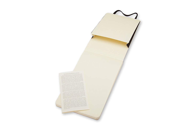 Pack of 3 Moleskine Reporter Notebook, Large, Ruled, Black, Soft Cover (5 x 8.25) (Reporter Notebooks) by Moleskine (Image #4)