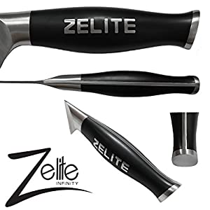 "Zelite Infinity Chef Knife Extra Length - Comfort-Pro Series - High Carbon Stainless Steel Knives X50 Cr MoV 15 >> 10"" (254mm)"