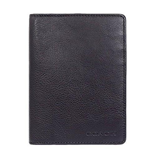 COACH Pebbled Leather Passport Travel