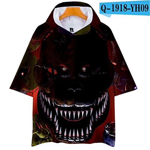 - KoreaFashion FNAF Shirt Cotton Merch Shirts for Boys Girls Womens Mens Youth Birthday Welcome Funny Nightmare Gifts