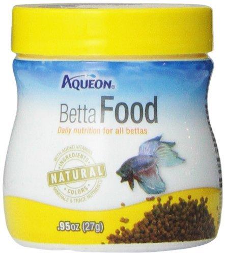 Aqueon Betta Food Pellets, 0.95-Ounce