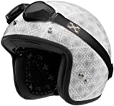 Sparx Pearl Iris Helmet, Helmet Type: Open-face Helmets, Helmet Category: Street, Distinct Name: Iris, Primary Color: White, Size: Lg, Gender: Mens/Unisex 843563