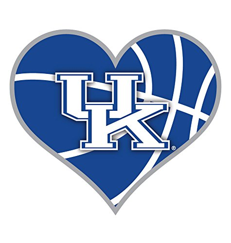 Kentucky Wildcats Heart - KENTUCKY WILDCATS BASKETBALL HEART MAGNET-UNIVERSITY OF KENTUCKY BASKETBALL MAGNET