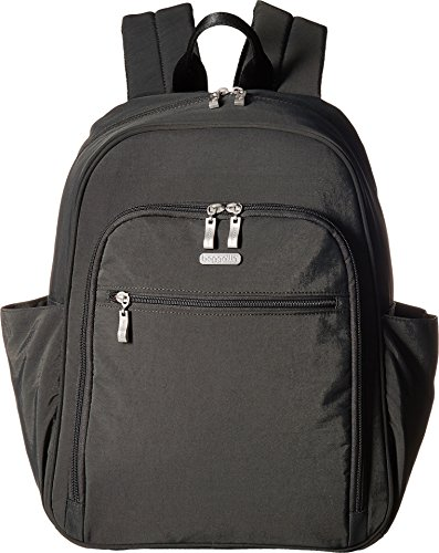 - Essential Laptop Backpack with RFID Messenger Bag, Charcoal, One Size