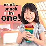 Zak Designs Despicable Me ZakSnak All-In-One Drink