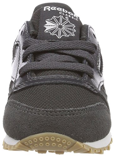 Bébé Classic White 000 Sneakers Leather Estl Reebok Gris Coal Basses Mixte 6qPYngz