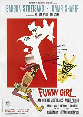 Funny Girl Italian Poster