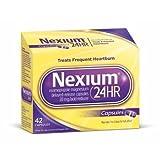 Nexium 24HR Capsules 42 ea (Pack of 2)