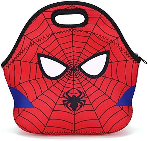Spiderman Brotdose 3-Fächer Kindergarten Lunchbox Marvel BPA frei Butterbrotdose
