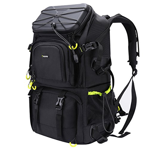 Endurax Extra Large Camera DSLR / SLR Backpack For Outdoor Hiking Trekking With 15.6 Laptop Compartment Professional Gadget Bag