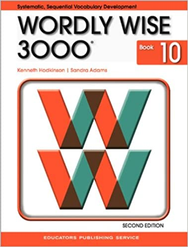 Amazon com: Wordly Wise 3000: Systematic, Sequential