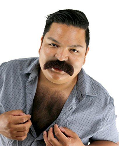 City Costume Wigs Brown Walrus Mustache ()