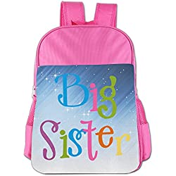 XianNonG Big Sister Children's Large Capacity School Bags Pink