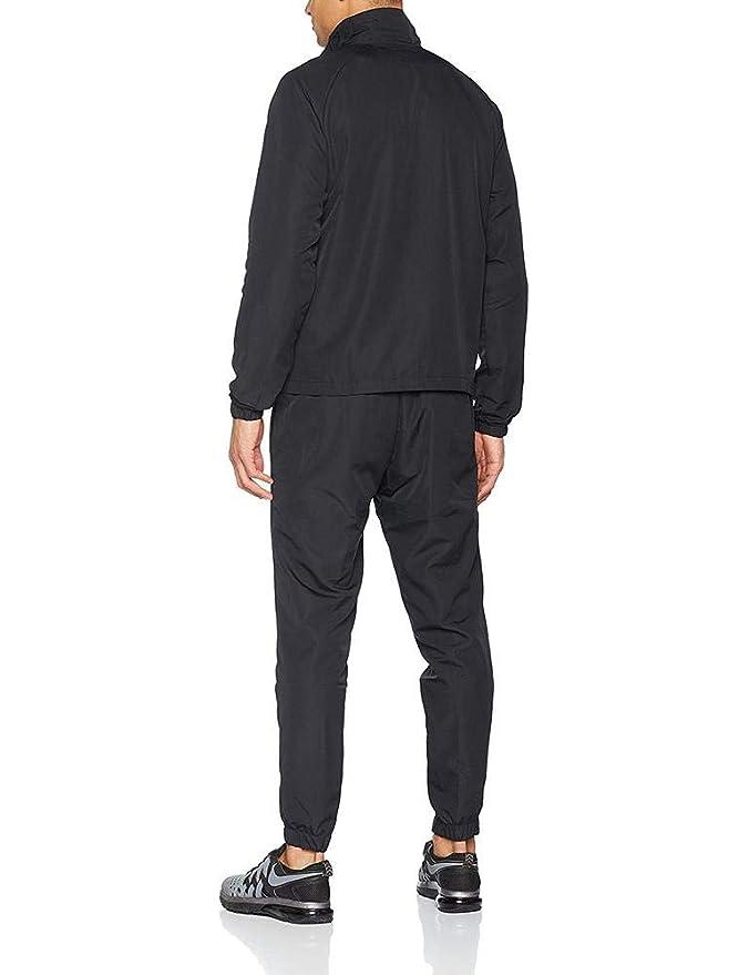 Nike M NSW CE Wvn Basic Chándal, Hombre, Black/White, L: Amazon.es ...
