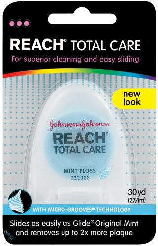 Reach Total Care Floss Dispensers, Mint, 30 Yard (Pack of 2)