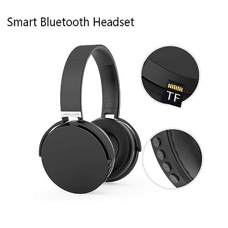 Bluetooth Over-Ear Auriculares Sensor Inteligente Estéreo Auriculares Inalámbricos Para Música Y Teléfono, Micrófono