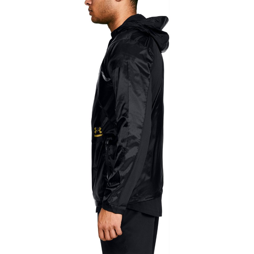 Under Armour Perpetual Full Zip Jacket - SS18 - Medium - Black by Under Armour (Image #2)