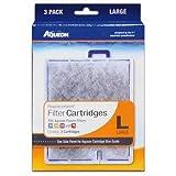Aqueon QuietFlow Filter Cartridge, Large, 3-Pack