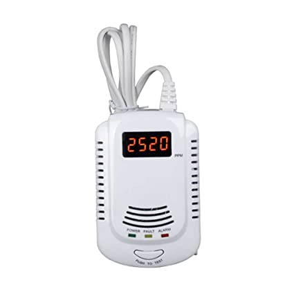 Portable Gas Leak Detector Propane Methane Natural Gas Safe Alarm Sensor - - Amazon.com