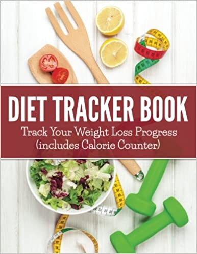 diet tracker book track your weight loss progress includes calorie