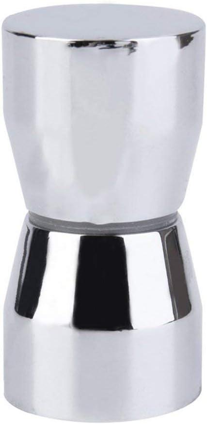 Zinniaya massiver Duscht/ürgriff Zugknopf verchromt Kegel Form Elegant Home Bad Ornamente Silber
