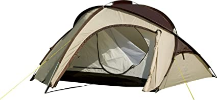 Wehncke Campingbedarf Zelt Colorado, braun, STANDARD: Amazon