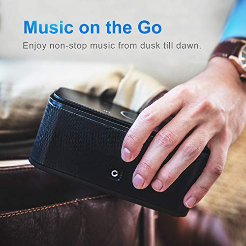 DOSS SoundBox Touch Wireless Bluetooth V4.0 Portable Speaker with HD...