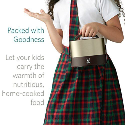 Vaya Tyffyn 600 Ml Insulated Lunch Box Stainless Steel