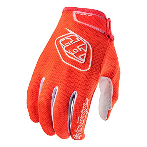 Troy Lee Designs Air 2016 Youth MX/Offroad Gloves Flo Orange/White Youth XL