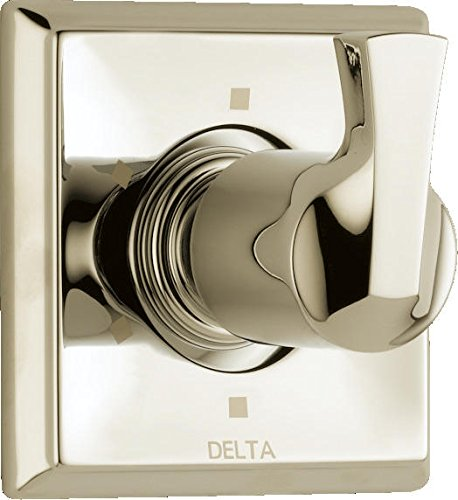 Delta Faucet T11951-PN Dryden 6 Setting Diverter, Polished Nickel