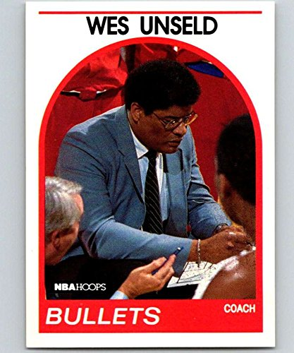 (1989-90 Hoops #53 Wes Unseld Bullets CO NBA Basketball)
