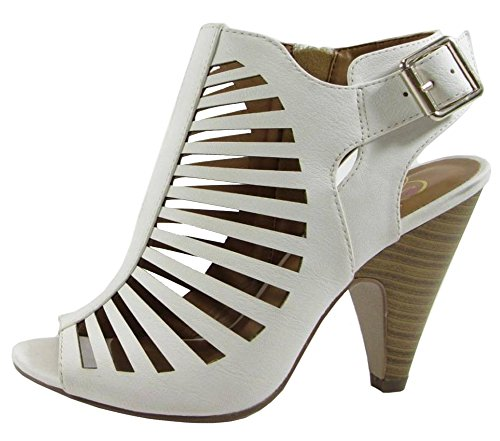 Shaky Dress Synthetic My Shoes Delicious Women's White xAq6w