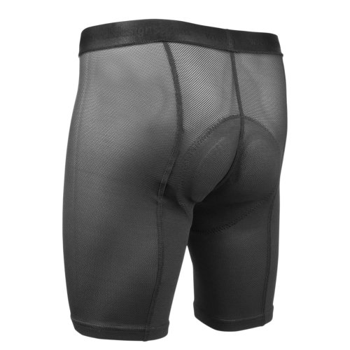 AERO|TECH|DESIGNS Elite Air Gel Men's Padded Cycling Underliner (X-Large) Black by AERO|TECH|DESIGNS (Image #1)