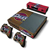 GoldenDeal Xbox One Console and Controller Skin Set – Basketball NBA – Xbox One Vinyl For Sale