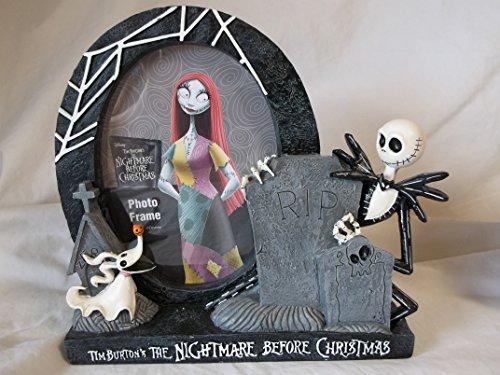 Disney's / Tim Burton's the Nightmare Before Christmas Jack Skellington resin photo picture frame (Christmas Nightmare Disney Before Is)