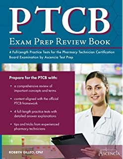 Ptcb exam study guide 2017 2018 test prep and practice test ptcb exam prep review book with practice test questions 4 full length practice tests fandeluxe Image collections